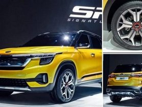 Kia Tusker (SP2i) spotted testing again in production version