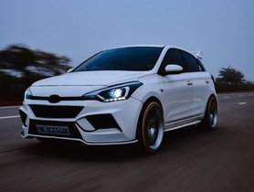 Check Out This Modified Hyundai Elite i20 With Full Body Kit & 20-Inch Rims