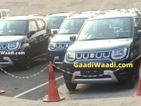 2020 Maruti Ignis Facelift Spotted Without Camouflage