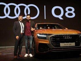 Virat Kohli's Newest Car Is An Audi Q8 Crossover