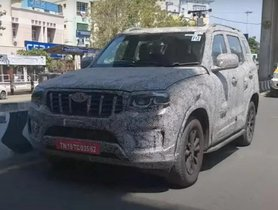 New Spy Shots Give The Clearest Look At Next-Generation Mahindra Scorpio