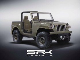 Tweaked Mahindra Thar is Reminiscent of Legendary Willys Jeep - VIDEO