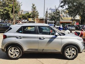 Hyundai Venue Borrows 17-inch Alloy Wheels from New-gen Hyundai Creta