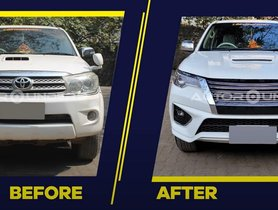 Toyota Fortuner Type 1 Modified Into a Type 3 Model