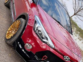 This Hyundai Elite i20 Active Gets Mean New Grille And Gold Rims