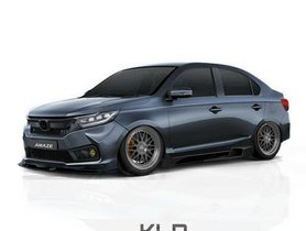 Highly-customized Honda Amaze Looks Like Absolute Beast in Rendering