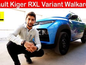 Most VFM Trim of All-new Renault Kiger 'RXL' Detailed in Walkaround VIDEO