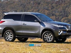 This Toyota Fortuner Three-Door Looks Really Very Cool - RENDERING