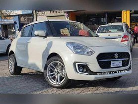 2021 Maruti Swift Facelift Employs Aftermarket Alloy Wheels to Look Cool