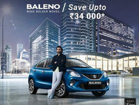 Maruti Baleno Offered With Discount of Up to Rs 34,000