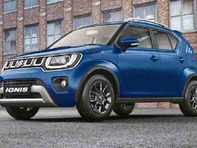 Maruti Ignis Now Available With Discounts Of Up To Rs 39,000 - COMPLETE DETAILS