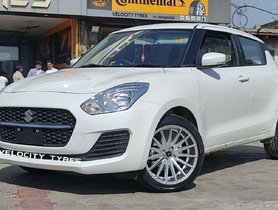 First-ever Maruti Swift Facelift with 17-Inch Aftermarket Alloy Wheels is Here