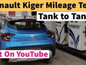 Renault Kiger Turbo Delivers Impressive Mileage Figure - VIDEO