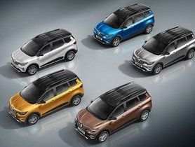 Renault Triber Gets Dual-tone Colour Options, Starting Price Goes Up toRs 5.30 lakh