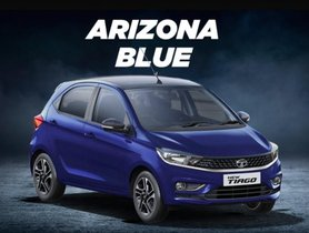 Tata Tiago Gets New Arizona Blue Paint Scheme, Replaces Tectonic Blue Colour Option