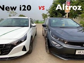 Tata Altroz Vs Hyundai i20, Detailed Comparison - VIDEO