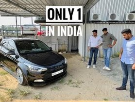 This Hyundai Elite i20 Is The Only One In India With Air Suspension - VIDEO