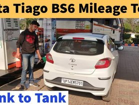 Tata Tiago BS-VI Mileage Test Thru Tank To Tank Method - VIDEO