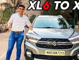 Maruti XL6 Converted Into a 7-seater MPV