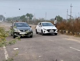 Hyundai i20 and Maruti Baleno Drag Race - VIDEO