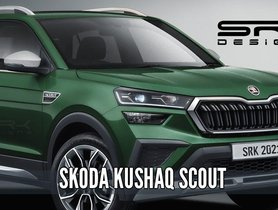 Here's How Upcoming Skoda Kushaq May Look Like in its Scout Avatar