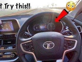 Can The 2021 Tata Safari Hit 200 Kmph? - VIDEO