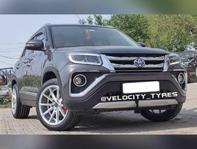 This Toyota Urban Cruiser Gets 18-inch Rims That Belong to Fortuner