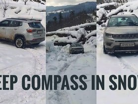 Watch Jeep Compass Float Through Snow [VIDEO]
