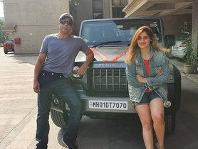 Arti Singh Drives Home New Mahindra Thar, Krushna Abhishek Feels Proud