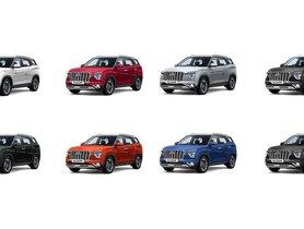 Hyundai Alcazar Rendered In Different Colours