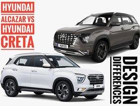 Top 5 Design Differences Between Hyundai Creta & Upcoming Alcazar