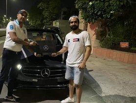 Punjabi Actor Singer Hardy Sandhu Buys 2021 Mercedes-Benz E-Class LWB Facelift