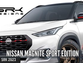 Nissan Magnite Sports Edition Rendered - VIDEO