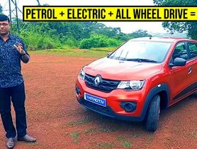 This Electric-Petrol Renault Kwid Offers 48kmpl of Mileage