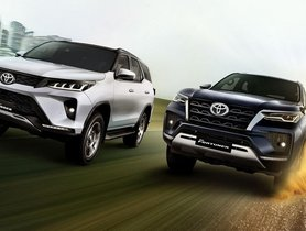 Toyota Fortuner Legender Price Hiked, Becomes Costliest SUV in Segment