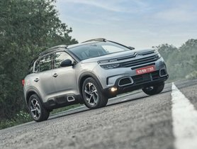 Citroen C5 Aircross Launched in India at Rs. 29.90 Lakh, Delivers 18.6 kmpl