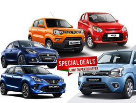 Maruti Car Offers & Discounts April 2021