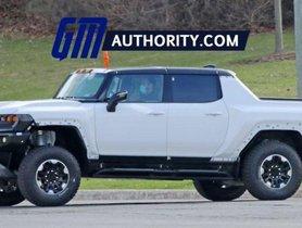 GMC Hummer EV Pickup Pops Wheelie When Launched Hard