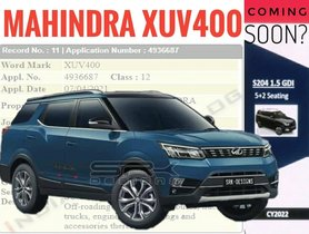 7-Seater Mahindra XUV300 To Be Named XUV400, Launching Next Year