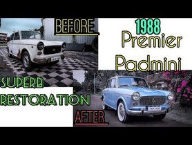Journey of Premeire Padmini from Scrap to Restored Damsel