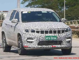 Upcoming 7-Seat Jeep Commander Test Mule Spied In Brazil