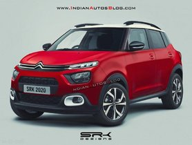Citroen To Unveil New Subcompact SUV Next Month, Will Be Made In India