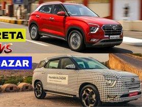 Hyundai Creta vs Alcazar, Which One Is Best For You?