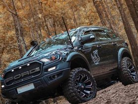 Modified Ford Endeavour Looks Behemoth, Gets Adjustable Suspension