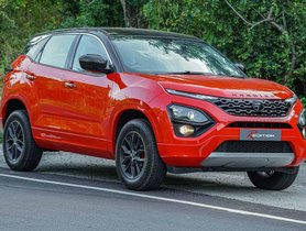 Tata Harrier Modified into R Edition Featuring Blacked-out Accents