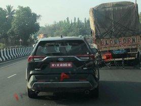 Toyota RAV4 Spied Again, This Time on ARAI Test