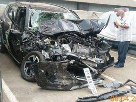 Nissan Magnite Crashes In Andhra Pradesh, Owner Gets Repair Bill Of Rs 21 Lakh