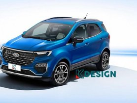 All-new Ford EcoSport Visualized in a Speculative Rendering