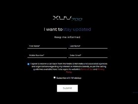 Mahindra XUV700 Official Website Goes Online