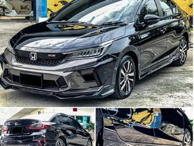 This Fifth-Gen Honda City Gets An Aggressive Aftermarket Body Kit